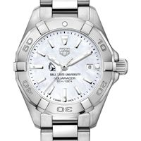 Ball State Women's TAG Heuer Steel Aquaracer w MOP Dial