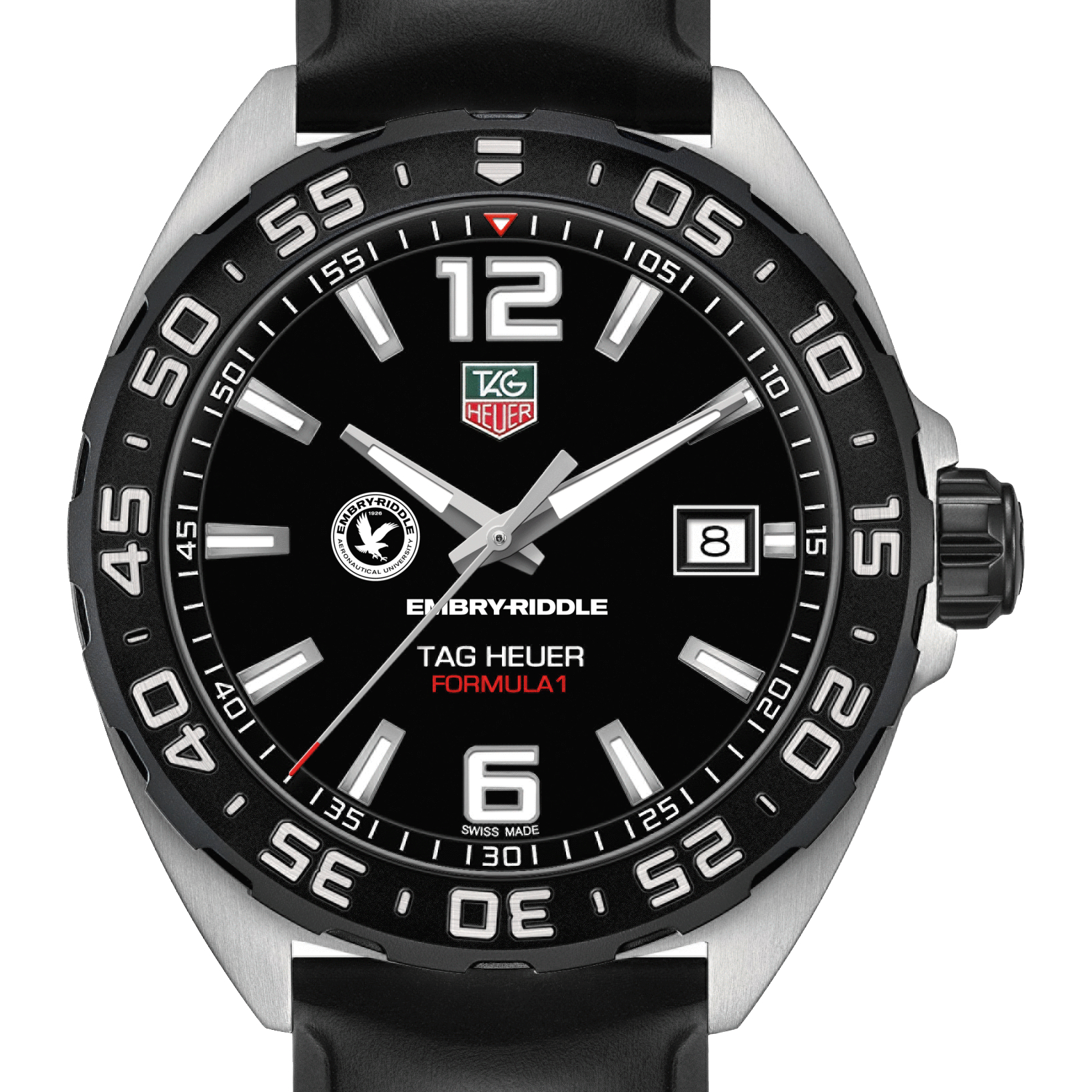 Embry-Riddle Men's TAG Heuer Formula 1 with Black Dial