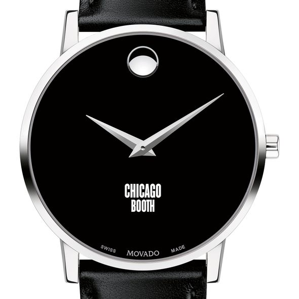 Chicago Booth Men's Movado Museum with Leather Strap - Image 1
