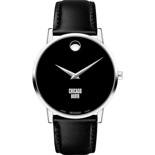 Chicago Booth Men's Movado Museum with Leather Strap - Image 2