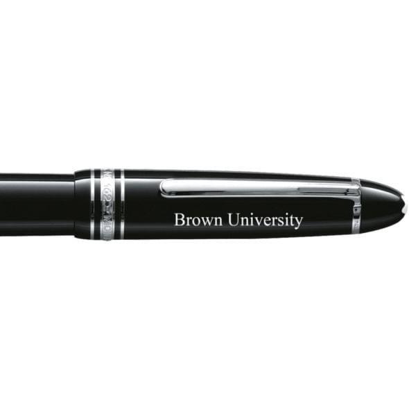 Brown University Montblanc Meisterstück LeGrand Rollerball Pen in Platinum - Image 2