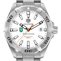 Tulane Men's TAG Heuer Steel Aquaracer