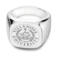 Villanova University Sterling Silver Square Cushion Ring