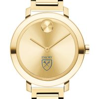 Emory University Women's Movado Gold Bold 34