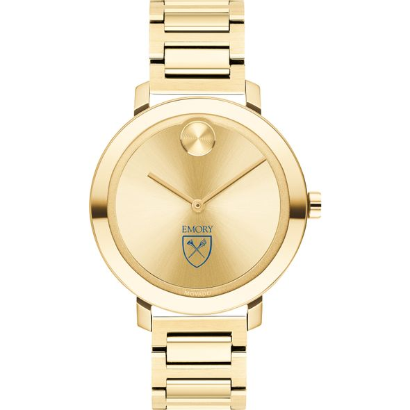 Emory University Women's Movado Gold Bold 34 - Image 2