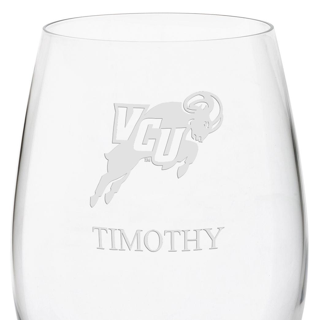 Virginia Commonwealth University Red Wine Glasses - Set of 4 - Image 3
