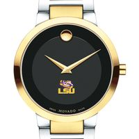 Louisiana State University Men's Movado Two-Tone Modern Classic Museum with Bracelet
