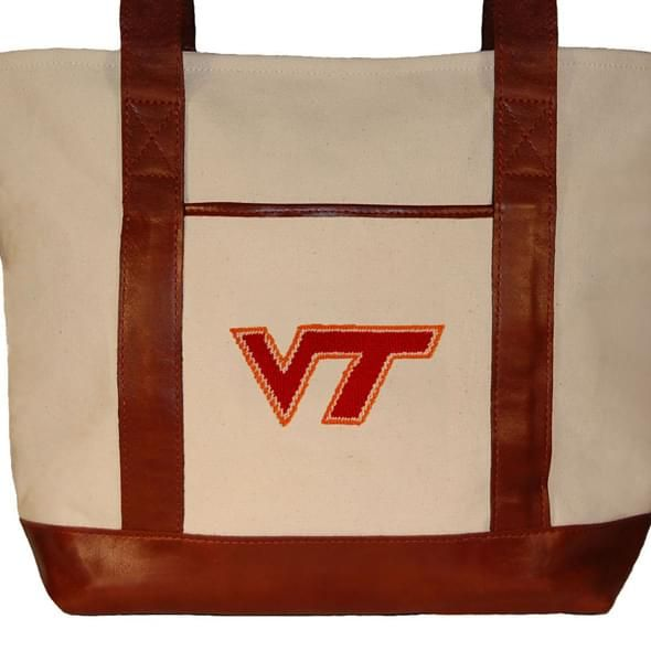 Virginia Tech Needlepoint Tote - Image 2