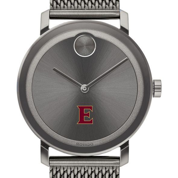 Elon University Men's Movado BOLD Gunmetal Grey with Mesh Bracelet