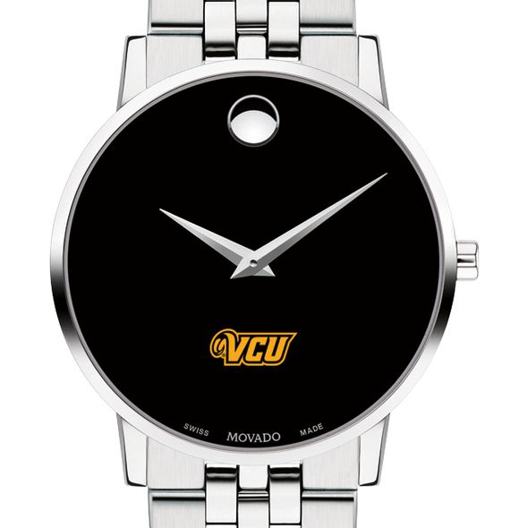 Virginia Commonwealth University Men's Movado Museum with Bracelet - Image 1