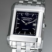 Christopher Newport University Men's Black Quad with Bracelet