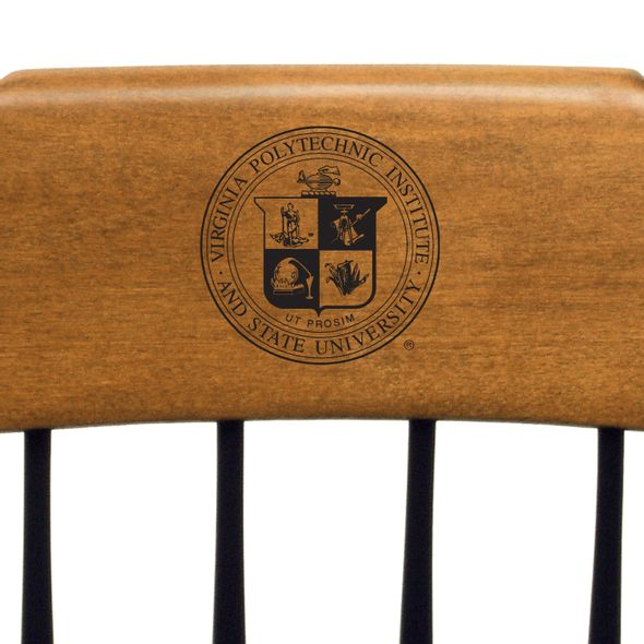Virginia Tech Captain's Chair by Standard Chair - Image 2