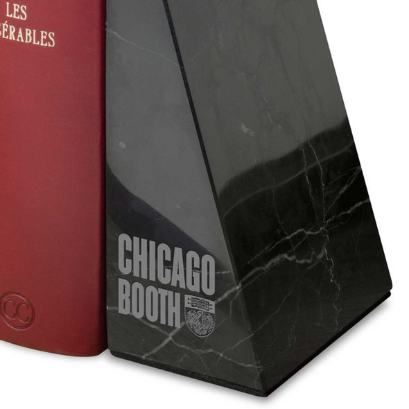 Chicago Booth Marble Bookends by M.LaHart - Image 2