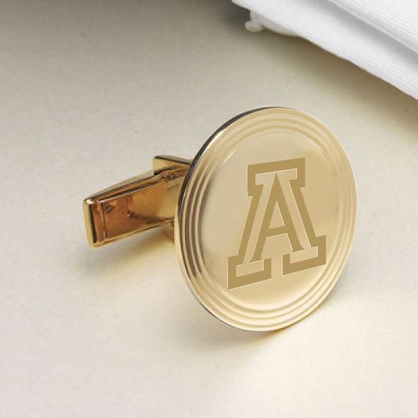 University of Arizona 18K Gold Cufflinks - Image 2