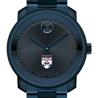 Wharton Men's Movado BOLD Blue Ion with Bracelet