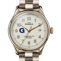 Georgetown Shinola Watch, The Vinton 38mm Ivory Dial