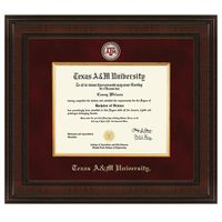 Texas A&M Excelsior Diploma Frame