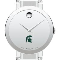 Michigan State University Men's Movado Sapphire Museum with Bracelet