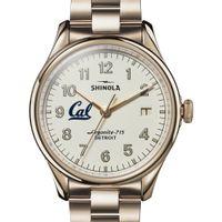 Berkeley Shinola Watch, The Vinton 38mm Ivory Dial