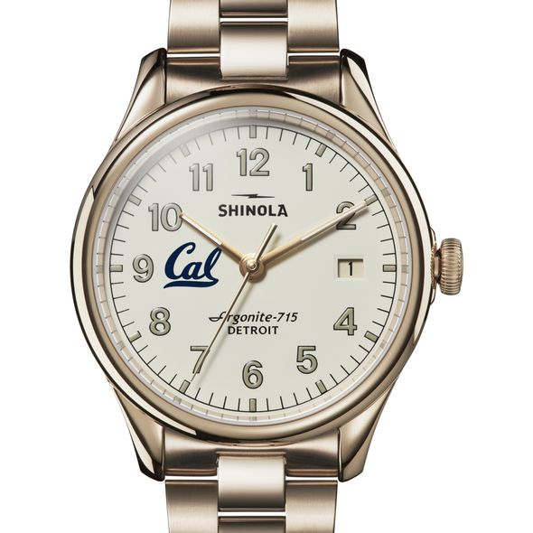 Berkeley Shinola Watch, The Vinton 38mm Ivory Dial - Image 1