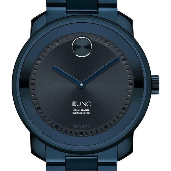 UNC Kenan–Flagler Business School Men's Movado BOLD Blue Ion with Bracelet