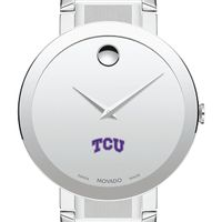 Texas Christian University Men's Movado Sapphire Museum with Bracelet