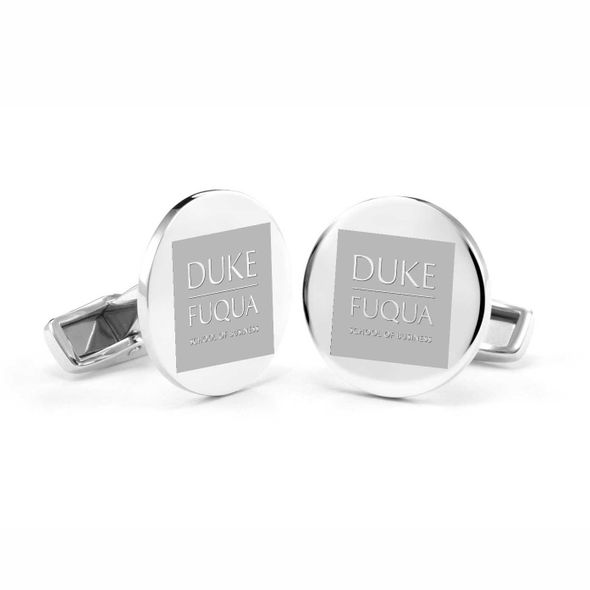 Duke Fuqua Cufflinks in Sterling Silver - Image 1