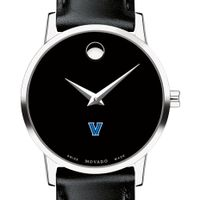 Villanova University Women's Movado Museum with Leather Strap
