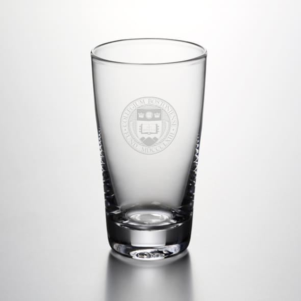 Boston College Ascutney Pint Glass by Simon Pearce