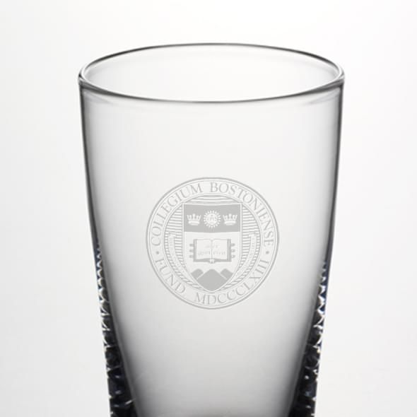 Boston College Ascutney Pint Glass by Simon Pearce - Image 2