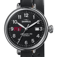MIT Shinola Watch, The Birdy 38mm Black Dial