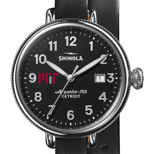 MIT Shinola Watch, The Birdy 38mm Black Dial - Image 1