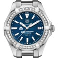 MIT Sloan Women's TAG Heuer 35mm Steel Aquaracer with Blue Dial - Image 1