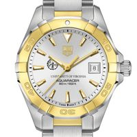 UVA Women's TAG Heuer Two-Tone Aquaracer