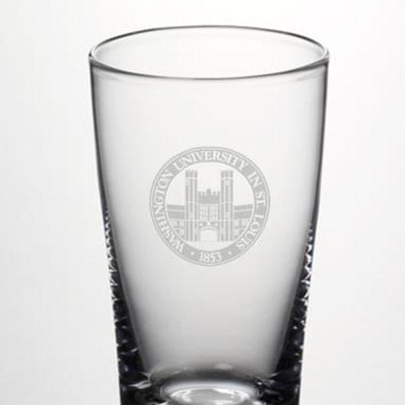 WUSTL Pint Glass by Simon Pearce - Image 2