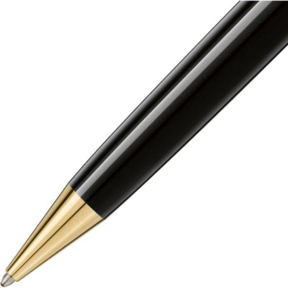 NYU Stern Montblanc Meisterstück LeGrand Ballpoint Pen in Gold - Image 3