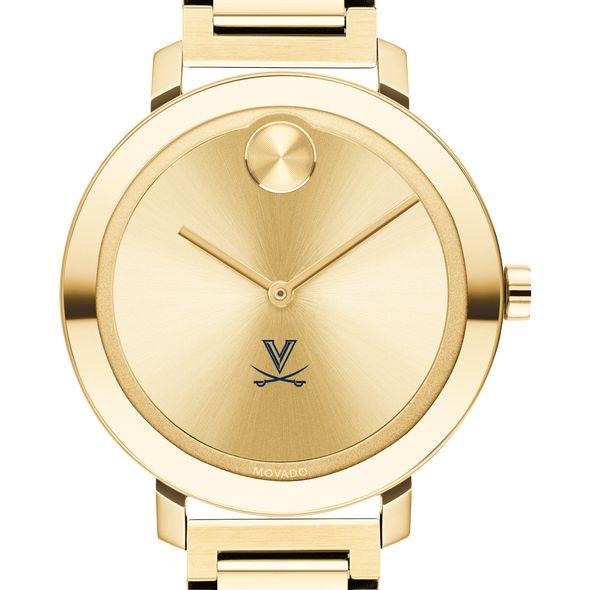 University of Virginia Women's Movado Gold Bold 34