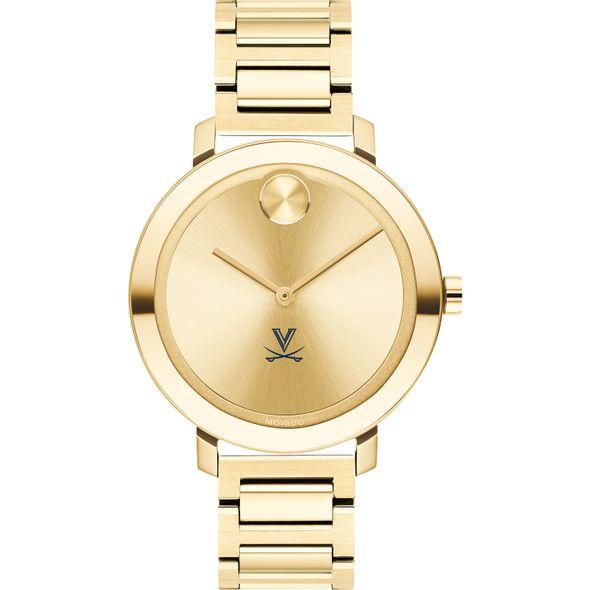 University of Virginia Women's Movado Gold Bold 34 - Image 2
