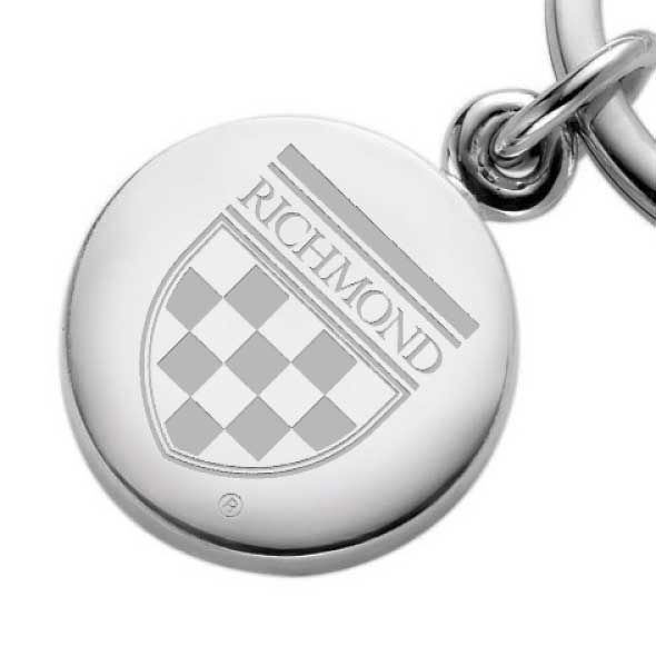 University of Richmond Sterling Silver Insignia Key Ring - Image 2