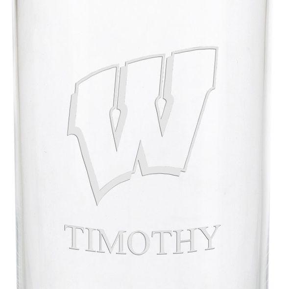 Wisconsin Iced Beverage Glasses - Set of 4 - Image 3
