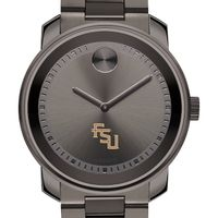 Florida State University Men's Movado BOLD Gunmetal Grey