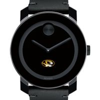 University of Missouri Men's Movado BOLD with Leather Strap