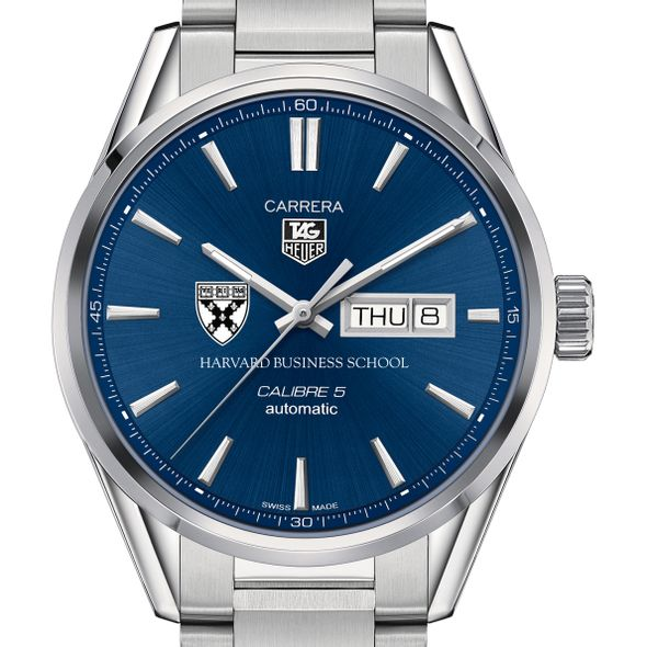 Harvard Business School Men's TAG Heuer Carrera with Day-Date