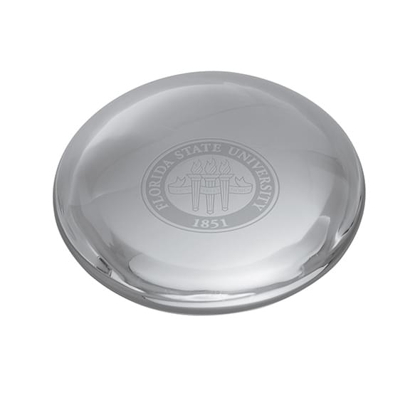 Florida State Glass Dome Paperweight by Simon Pearce