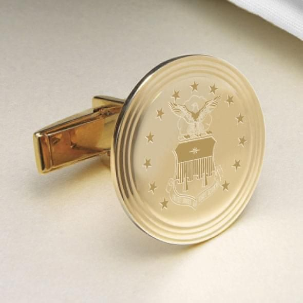 Air Force Academy 14K Gold Cufflinks - Image 2