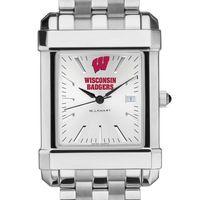 Wisconsin Men's Collegiate Watch w/ Bracelet