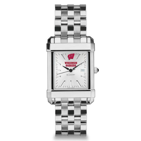 Wisconsin Men's Collegiate Watch w/ Bracelet - Image 2