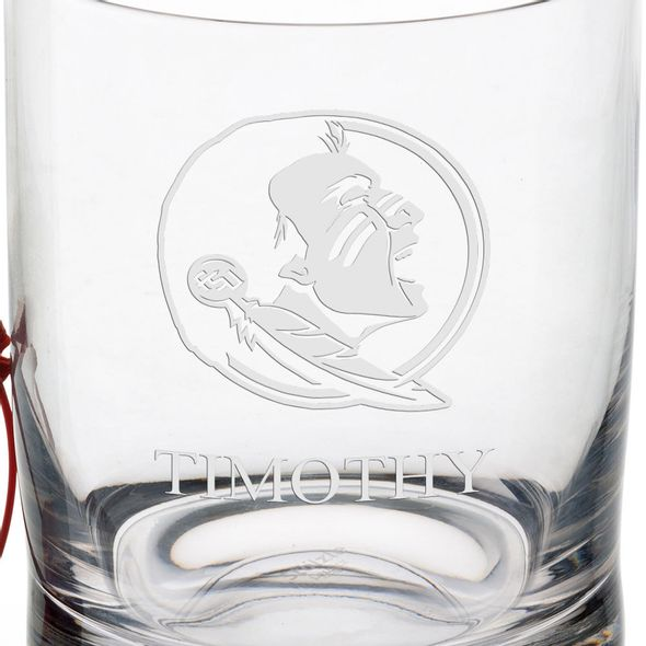 Florida State University Tumbler Glasses - Set of 4 - Image 3