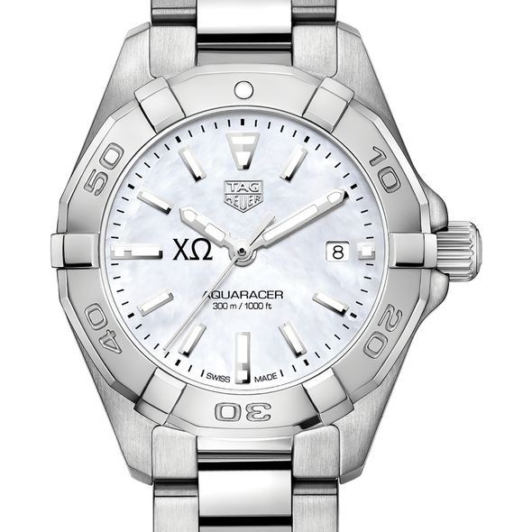 Chi Omega Women's TAG Heuer Steel Aquaracer w MOP Dial