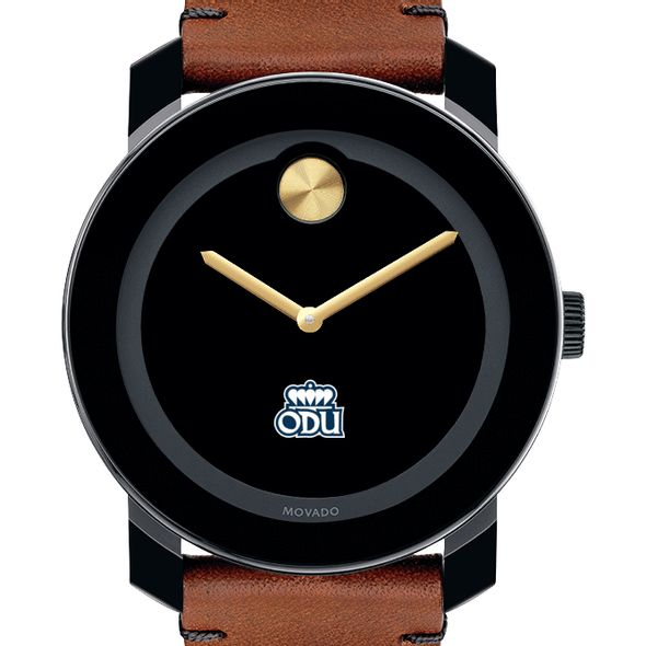 Old Dominion Men's Movado BOLD with Brown Leather Strap